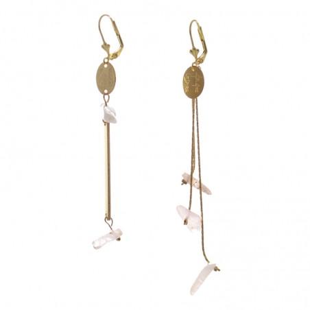 'morganite 2' earrings