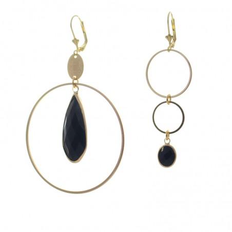 'mega cristal 3' earrings