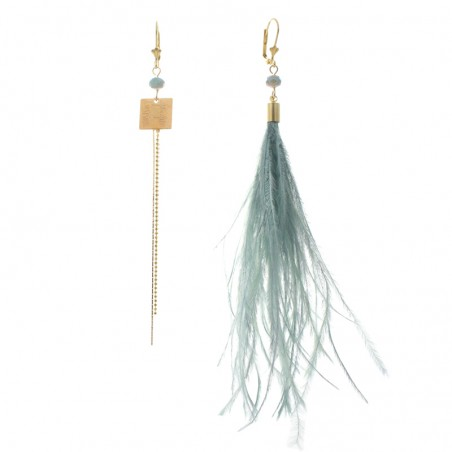 blue 'Ritz' earrings