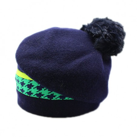 long bonnet pompon FUNKY...