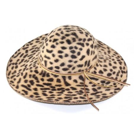 'Leopard' brimhat