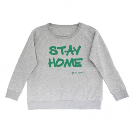 'Stay Home' sweater