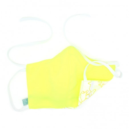 yellow 'Fluo' mask
