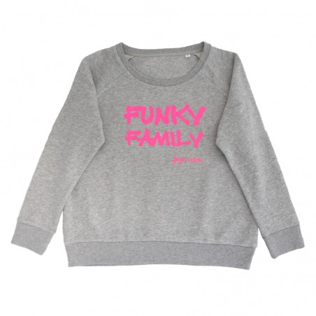 fluo pink - grey 'Funky...
