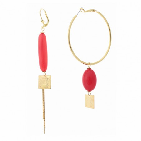 'Dragi' creoles earrings
