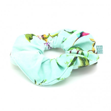turquoise 'Hana' Scrunchie