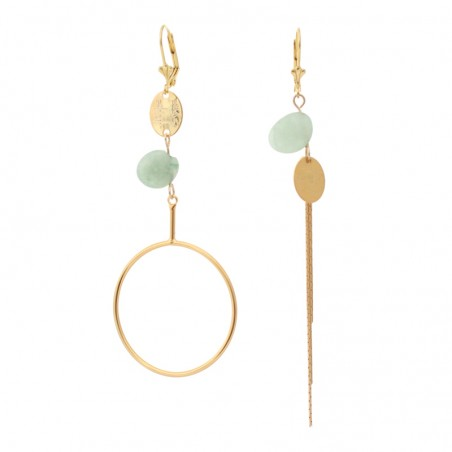 'Galets 4' earrings