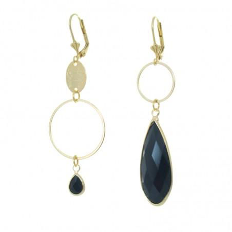 'mega cristal 4' earrings