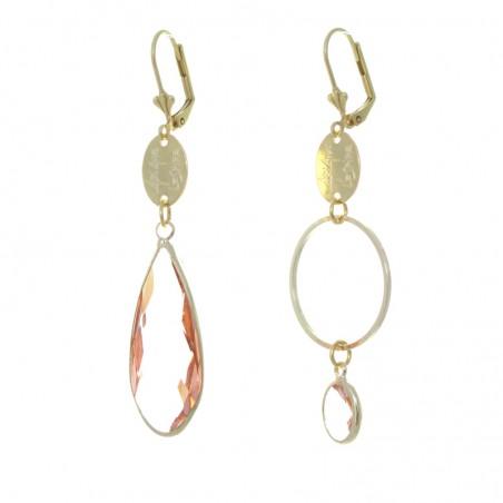 'mega cristal 5' earrings