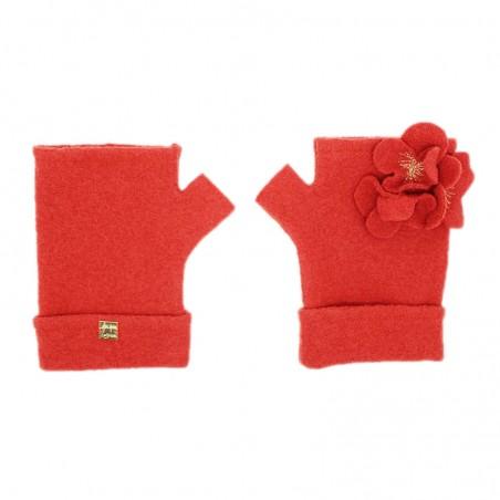 'Musti' fingerless gloves