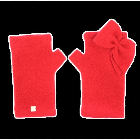 'NODO' fingerless gloves