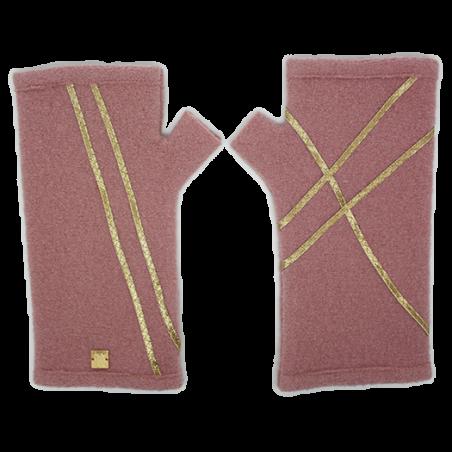 'Lazi' fingerless gloves