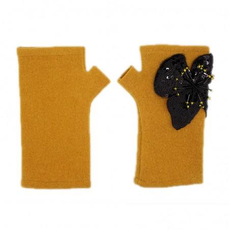 'Pisti' fingerless gloves