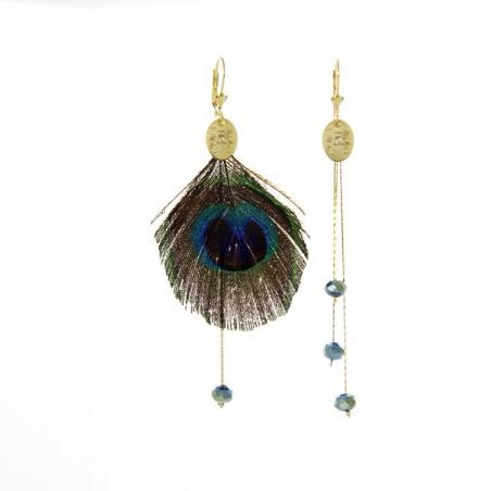 Plumi 'Paon' earrings