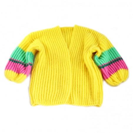 Yellow 'OLGA' vest