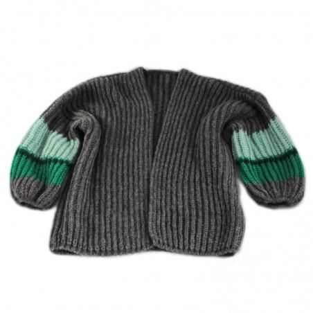 Anthracite 'OLGA' vest