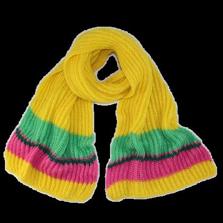 Yellow 'Olga' scarf