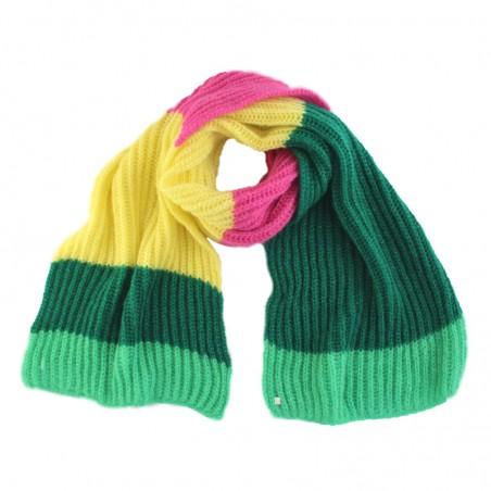 Yellow 'TOMILI' scarf