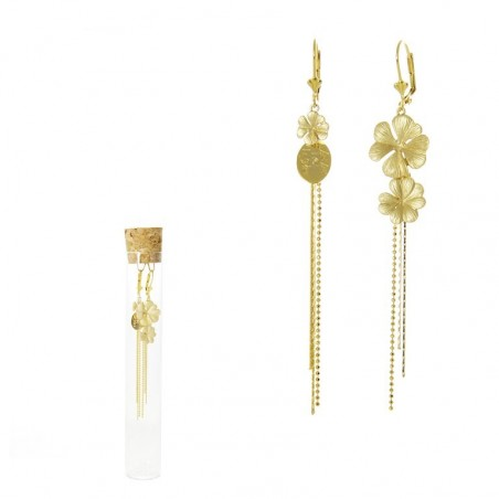 Duo 'Trèfle' earrings