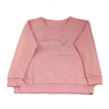 'Lovely Therapy' sweater