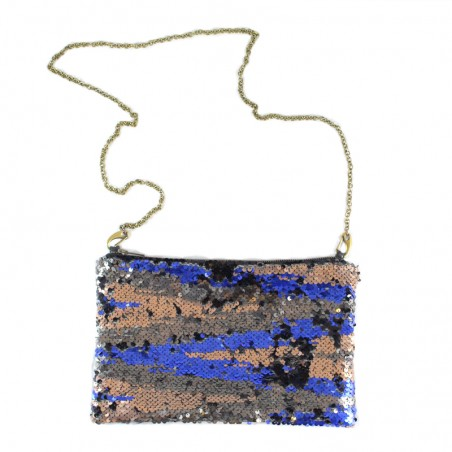 'Bagi Zebra brown' purse