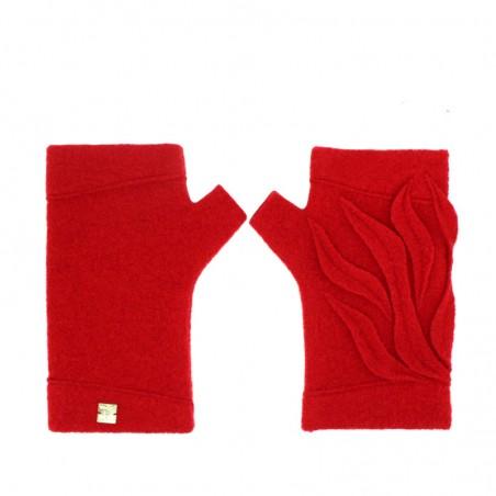 'DEVIL' fingerless gloves