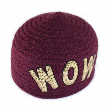 bonnet scoubidou WOW!