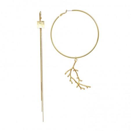 'CHERRY 1' creole earrings