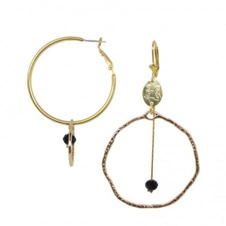 'BOXO' creoles earrings