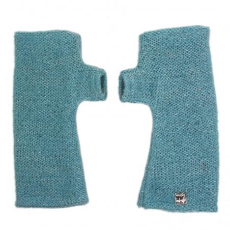 'LOU' short fingerless gloves