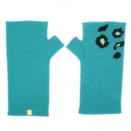 'PAULA' fingerless gloves