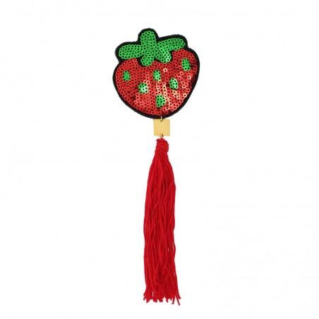 'FRUITY strawberry' brooch