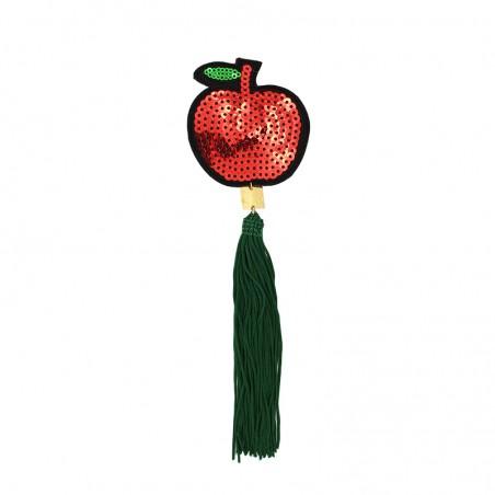 'FRUITY apple' brooch