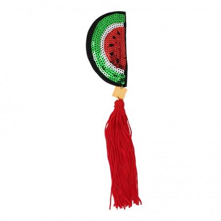 'FRUITY watermelon' brooch