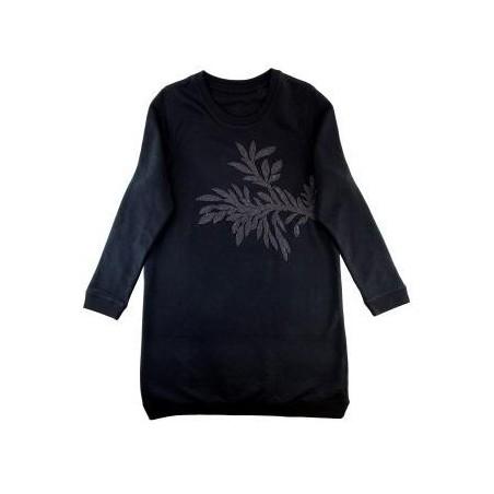 robe César (motif noir)