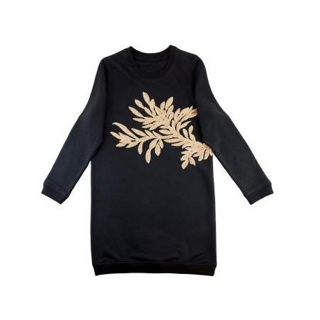robe César (motif doré)