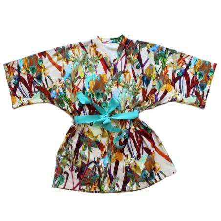 'ORCHID' kimono