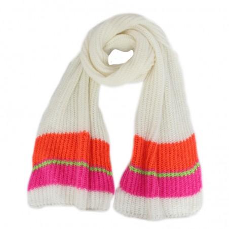 Fluo fuchsia 'OLGA' scarf