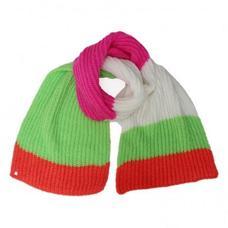 Fluo fuchsia 'TOMILI' scarf