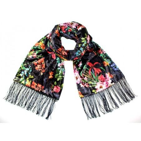 'Hanami' scarf - black color