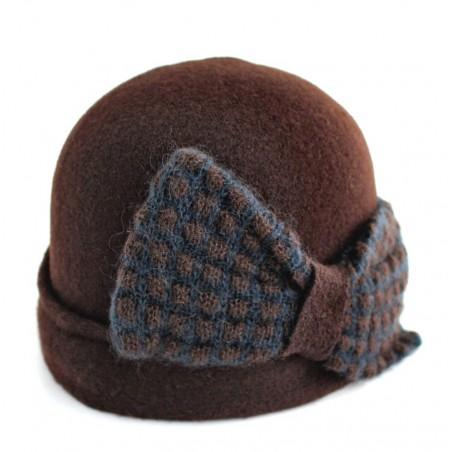 bonnet Gipsy marron