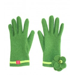 'Flo' gloves - 'green' color