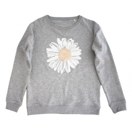 'Daisy flower' sweater