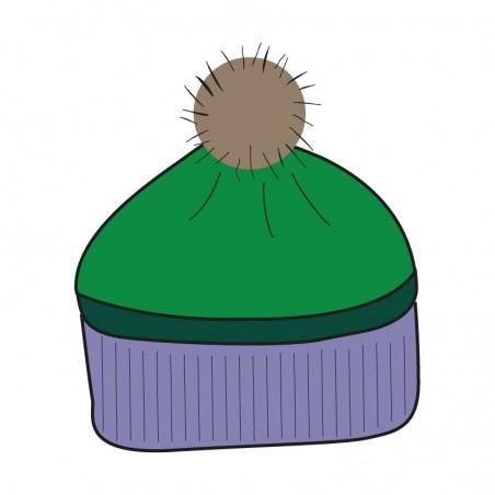 Knitted apple 'TOMILI' hood