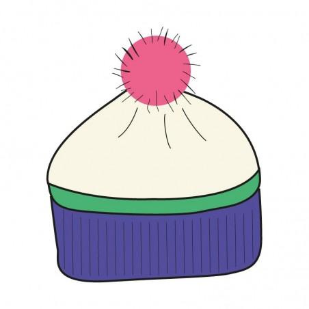 Knitted pistachio bis...