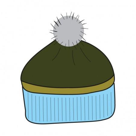 Bonnet OLGA⎜TOMILI ciel tricot