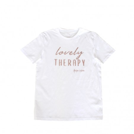 'LOVELY THERAPY' t-shirt