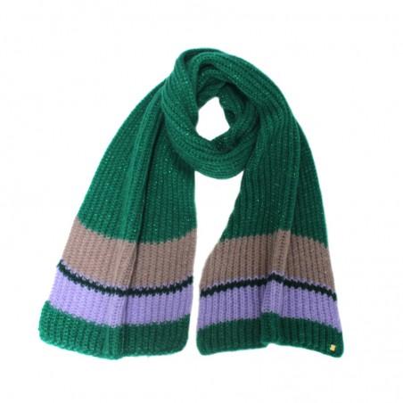 Knitted apple 'OLGA' scarf