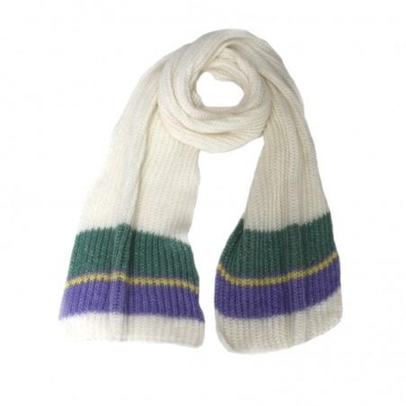Echarpe OLGA lilas tricot