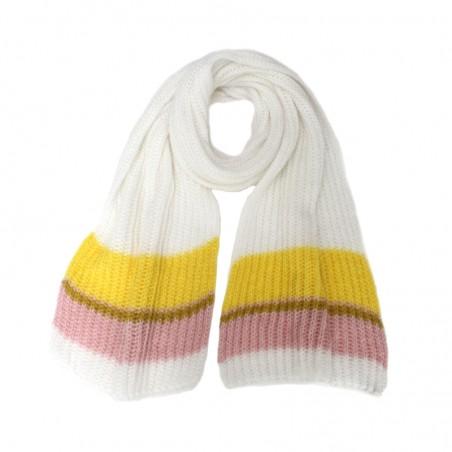 Echarpe OLGA dragée tricot